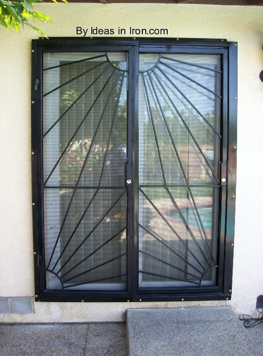 Door Security Sliding Glass Door Security Gate