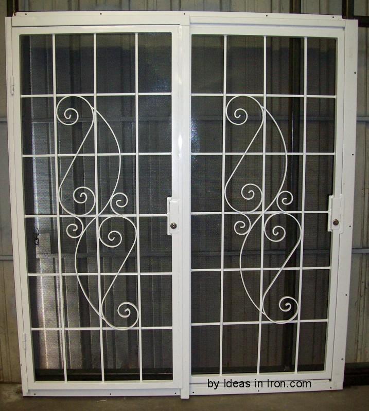 Patio security door for Door security